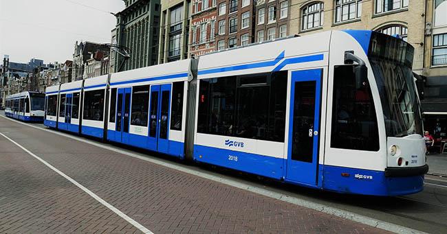 проездной Амстердам трамвай