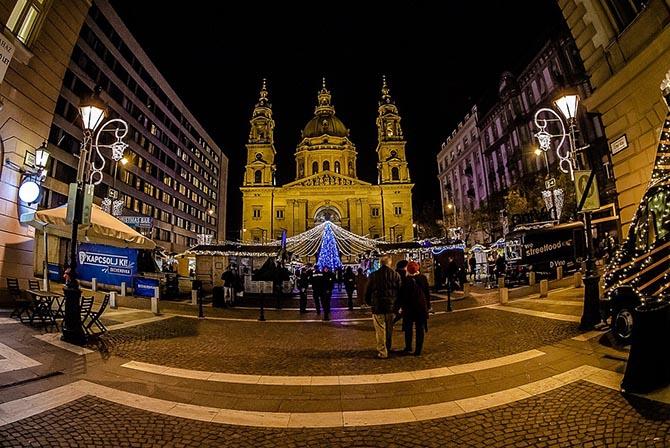 Рождество в Будапеште Новый год