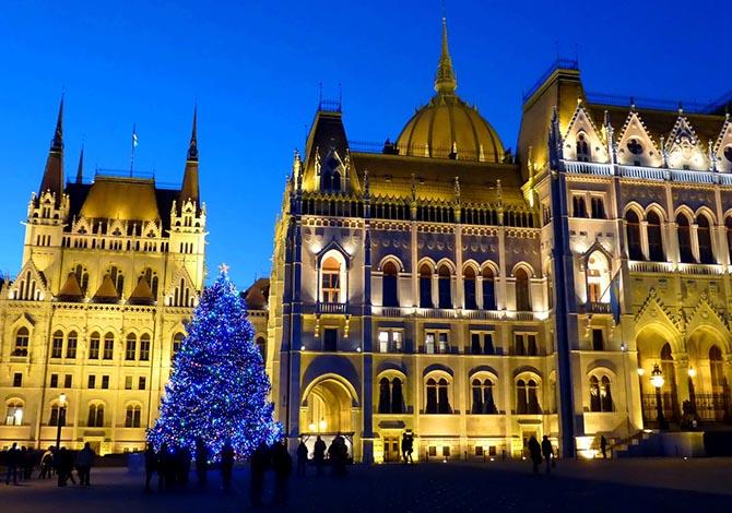 новый год в Будапеште Рождество