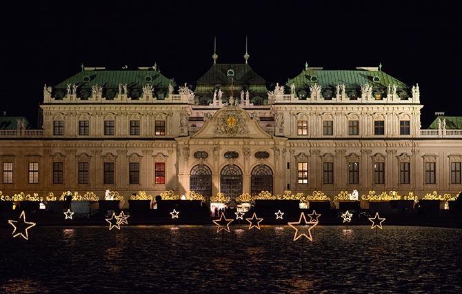 рождественская ярмарка Вена