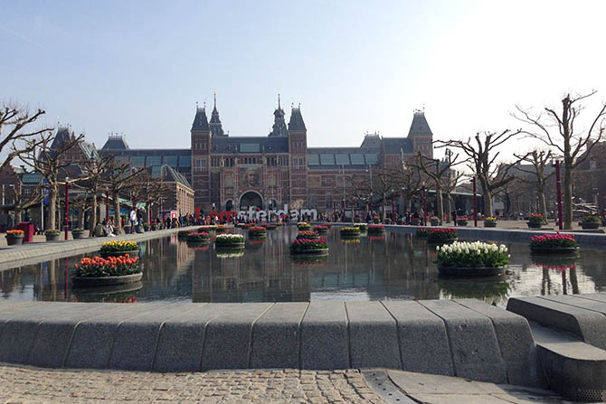 Амстердам музейный квартал