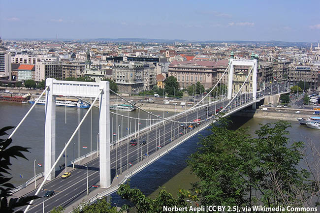 Мост Эржебет - аудиогид по Будапешту