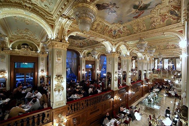 кафе Будапешта достопримечательности