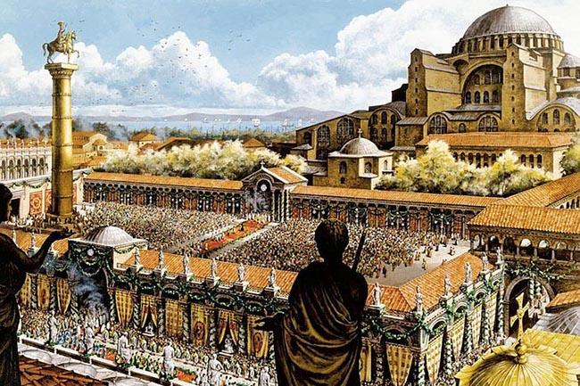 Константинополь собор святой Софии