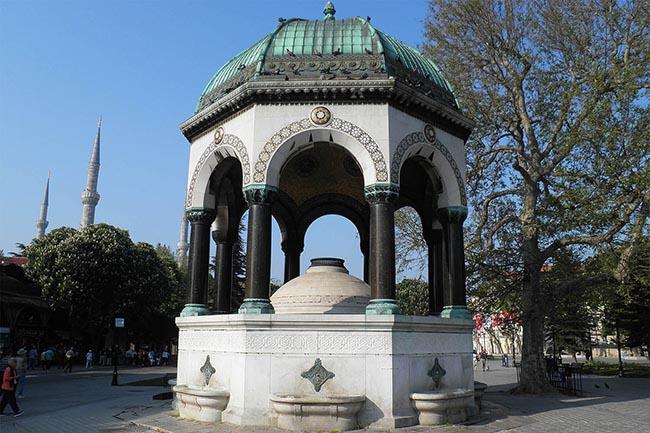фонтаны в Стамбуле Айя София гид