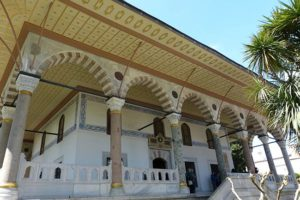 дворец Топкапы в Стамбуле султан