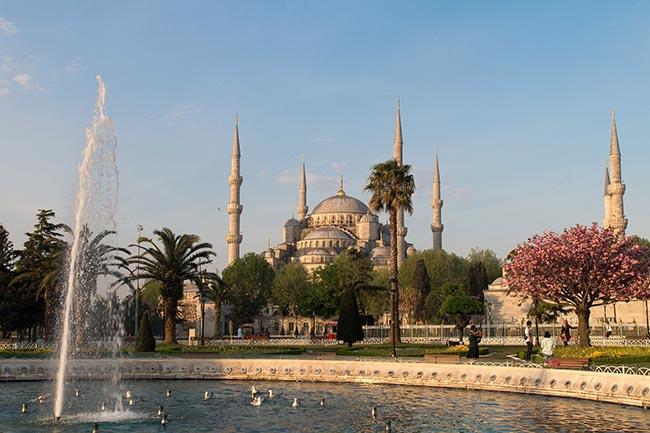 Голубая мечеть Султанахмет Стамбул