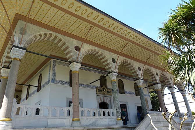 Стамбул Топкапы покои султана