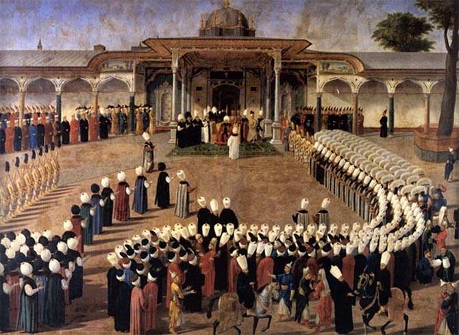 покои султана Топкапы Стамбул