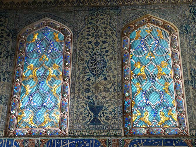 комнаты Топкапы в Стамбуле