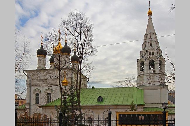 церкви на Арбате