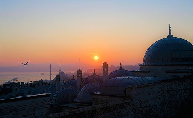 Район Султанахмет Стамбул