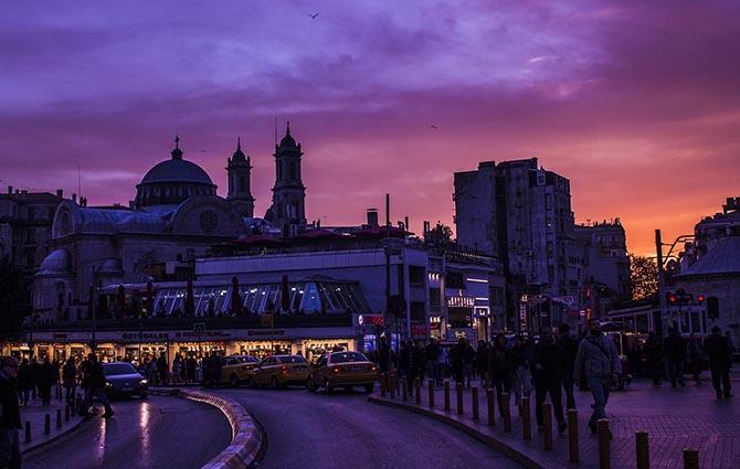 Отели и районы Стамбула - советы туристам