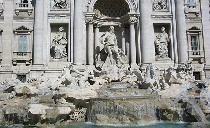 Trevi Fountain In Rome Reopens After Renovation